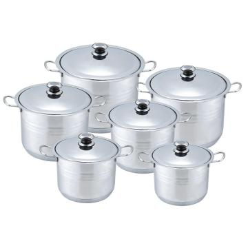 12pcs Csserole set with wire handle