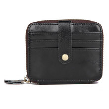 Vintage Designer Small Wallet Men Card Holder Case