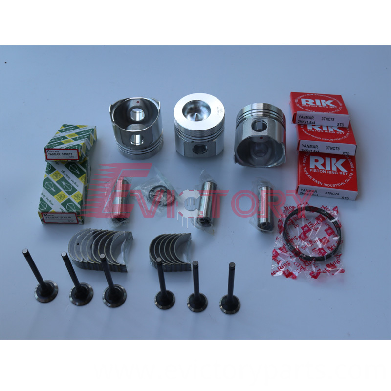 3TNC78 piston+ring bearing valve
