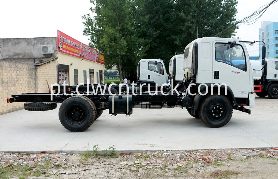 water carrying truck chassis 2