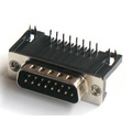 D-SUB PCB Male Dual Row Right Angle