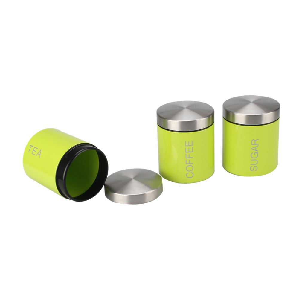 tea coffee sugar canister set