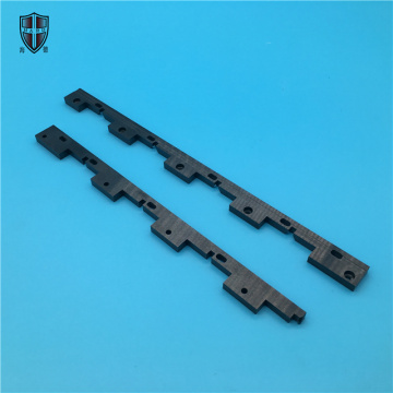 black zirconium oxide zirconia ceramic block brick