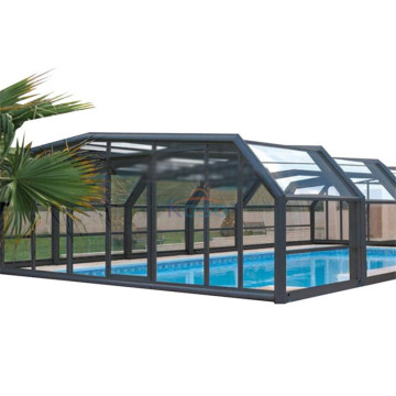 Roof Reel System Pool Enclosure Cover