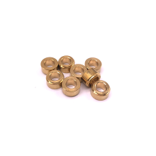 Custom Brass Round Clean Hole Spacer
