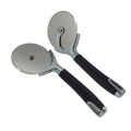 Stainless Steel Pizza Cutter with plastic black Handle