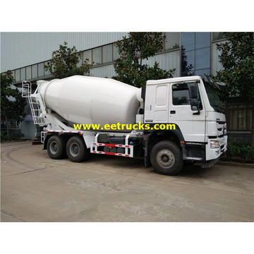 HOWO 10 Wheel Beton Transit Mixer Trucks
