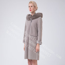Women Bias Spain Merino Shearling Coat