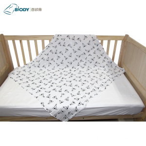 High definition for Muslin Blankets Warm Organic Comfortable Crochet thick Muslin Kid Blanket export to Germany Suppliers
