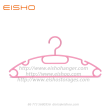 China Gold Supplier for for Plastic Clothes Hanger,Plastic Garment Hanger,Pp Plastic Hangers For Clothes Manufacturer in China EISHO Anti-slip Closet Plastic Hangers For Suit export to United States Factories