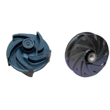 New Arrival China for Slurry Pump Rubber Parts Slurry pump Rubber impeller F6147 supply to India Exporter