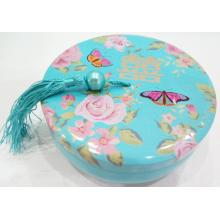 Customized for Tinplate Candy Tin Box Blue Colour Candy Tin Box supply to Netherlands Factories