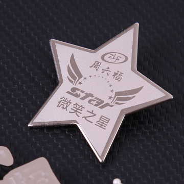 Factory custom make metal badge