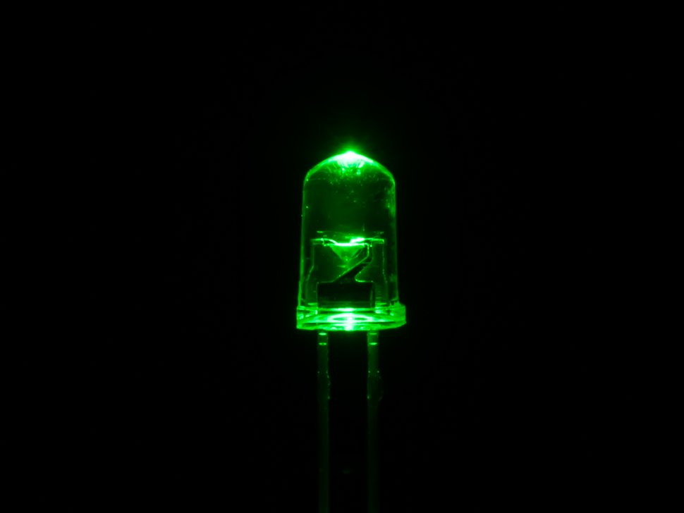 5mm green led