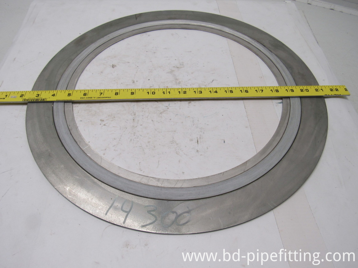 Spiral Wound Gaskes with Inner and Outer Ring Swg Gaskets.
