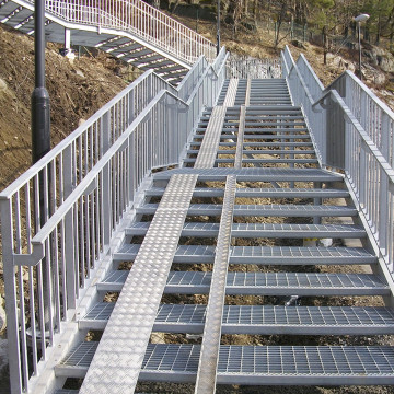 Mild Steel Stair Tread with Anti-Slip Nosing