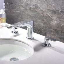 Hot And Cold Water Brass Basin Faucet