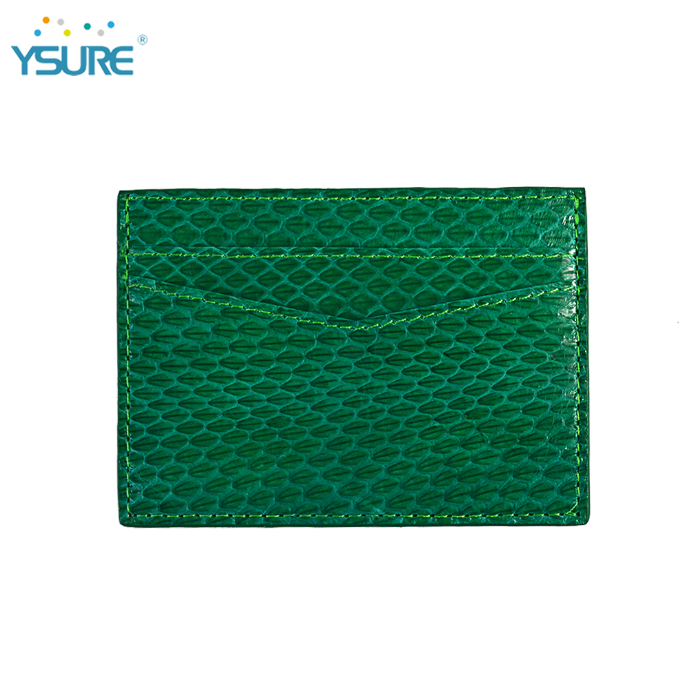 Low Price Pu Leather Business Credit Card Holder