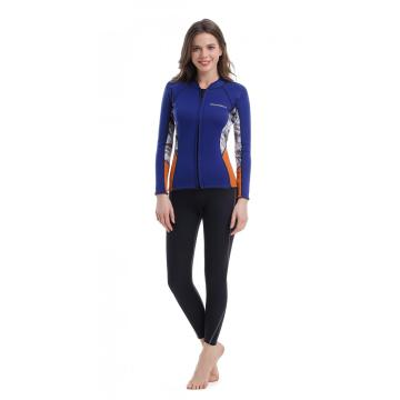 Seaskin Long Sleeve Wetsuit Top for Womens