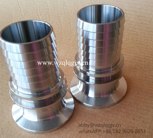 Sanitary Stainless Steel Fitting Hose Nipple 304