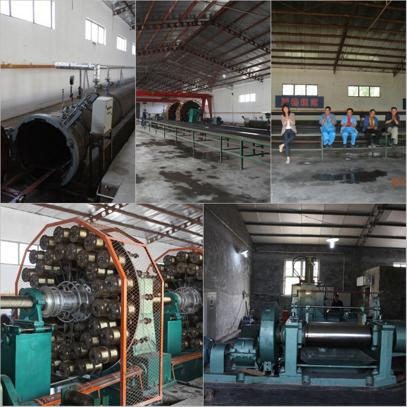 rubber hose factory