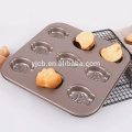 9pcs Madeleine Commercy Funny Cartoon Shaped Cake Mold