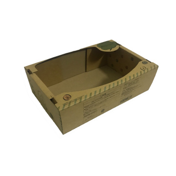 Brown small cardboard gift boxes