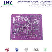 Best Quality for Rigid Printed Circuit Board 2 Layer FR4 Rigid PCB Purple Solder Mask export to South Korea Suppliers