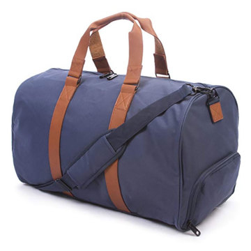 Large Duffle Garment Bag with Shoe Compartment