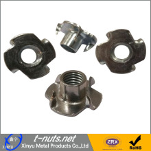 ODM for China factory of Rivet Nuts, Carbon Steel Riveted Nuts, Stainless Steel Riveted Nuts Stainless Steel Zinc Plated Insert T Nut supply to Romania Manufacturer
