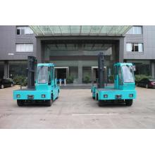 Green Blue Electric Side Loader Forklift