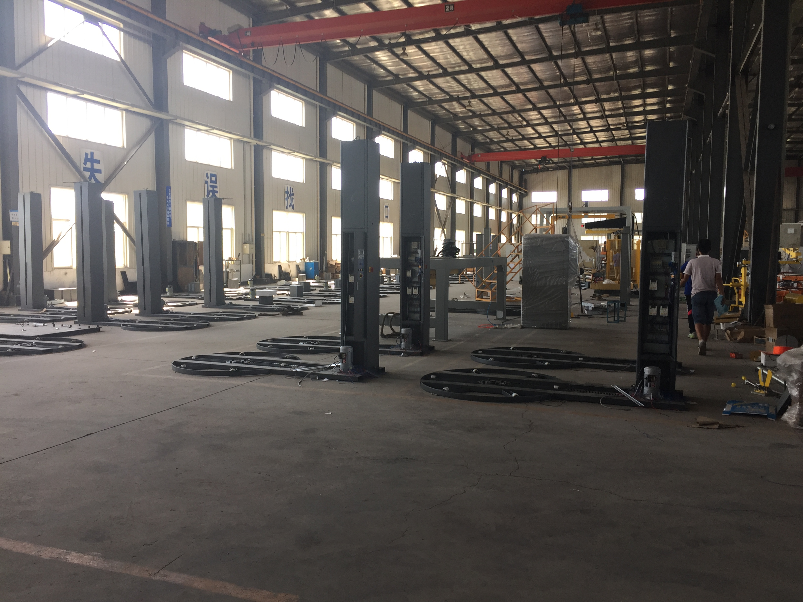 PLC Auto Pallet Stretch Wrapper