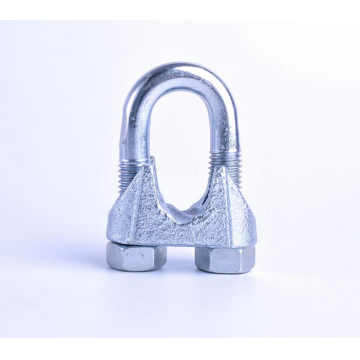 US Type Malleable Grip Clamp Wire Rope Clip