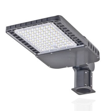 DLC 100W slipfitter led shoebox outdoor light