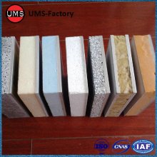 Insulation outside wall panels external board