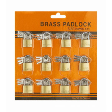 China Gold Supplier for Gate Brass Padlock Unity Programer Skin Card Brass Padlock export to Bulgaria Suppliers