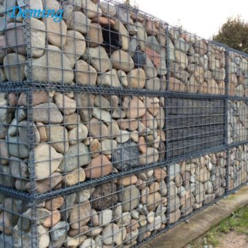 Heavy Galvanized Stone Cage Welded Gabion Cages