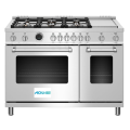 48 inch Dual Fuel Range Electric Oven