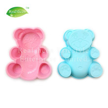 Leading for Baking Cake Mould Small Bear Shape Silicone Cake Mould export to Poland Supplier