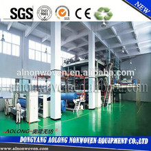 2400mm Spunbond Nonwoven Machinery for the Production of Polypropylene Bags SSS/SMS Model