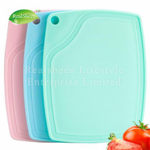 Mini Plastic Cutting Board Deep Drip Juice Groove