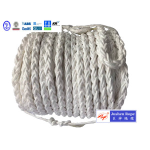 OEM China High quality for Braided Polypropylene Rope High Performance 8-Strand 220 Meters PP Mooring Rope supply to Aruba Suppliers