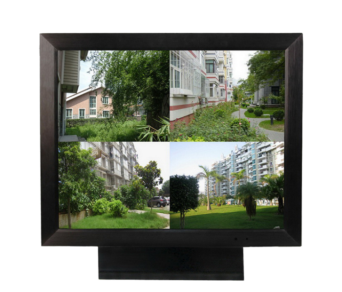 metal monitor with picture division