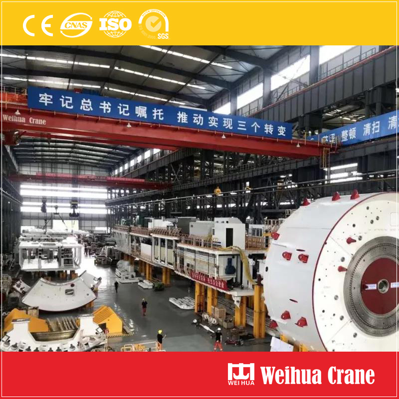 Crane For Tunnel Boring Machine