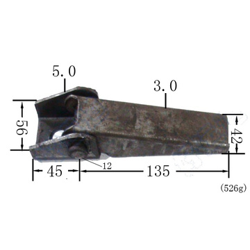 Best Quality for Trailer Door Hinges Trailer Stamping Hinges with Raw Material export to Puerto Rico Suppliers