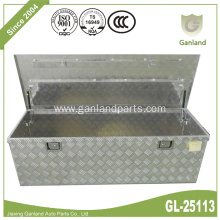 Diamond Plate Single Door Aluminum Underbed Tool Box