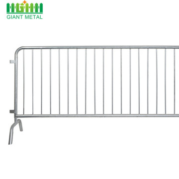 Galvanized Tube feet Crowd Barrier for sale