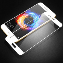 HD White Tempered Glass for Huawei Honor V9