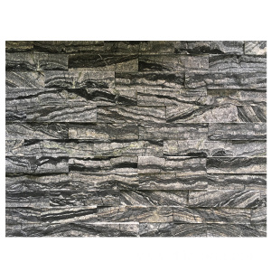 15×60cm Black Marble Natural Ledgerstone Paneling