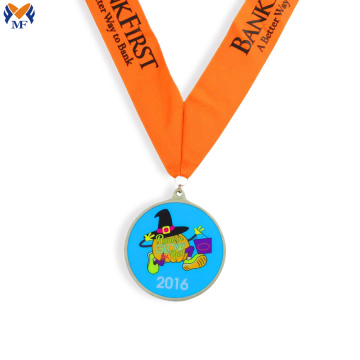 Metal award sports medals for kids